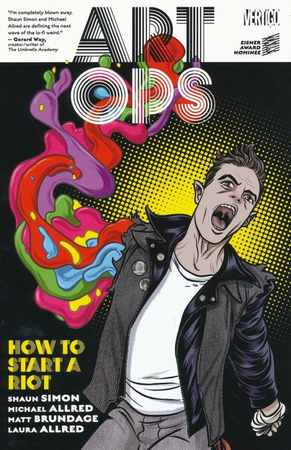 ART OPS VOL 01 HOW TO START A RIOT SC