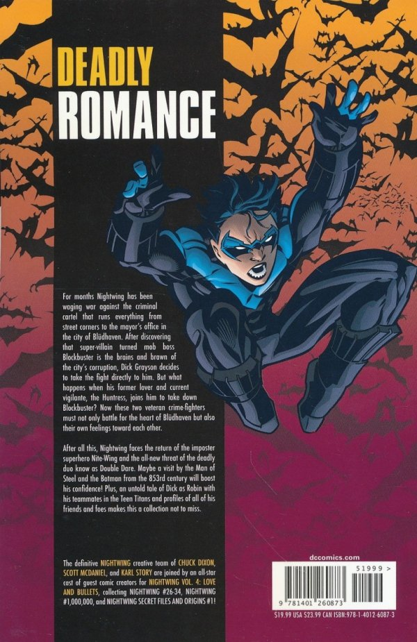 NIGHTWING VOL 04 LOVE AND BULLETS SC