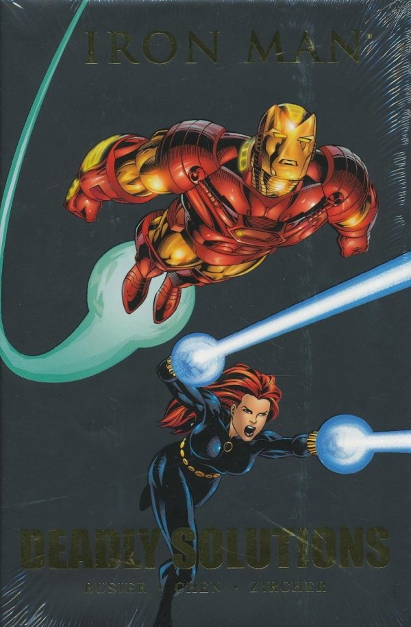 IRON MAN DEADLY SOLUTIONS HC (STANDARD COVER)