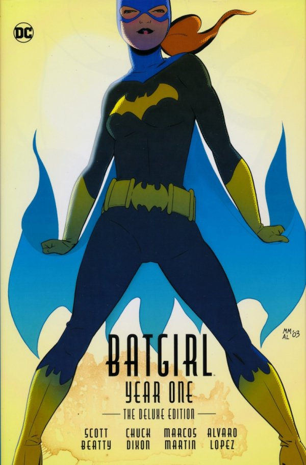 BATGIRL YEAR ONE THE DELUXE EDITION HC