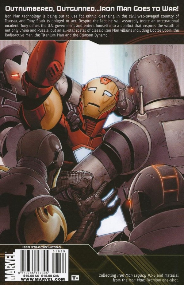 IRON MAN WAR OF THE IRON MEN SC