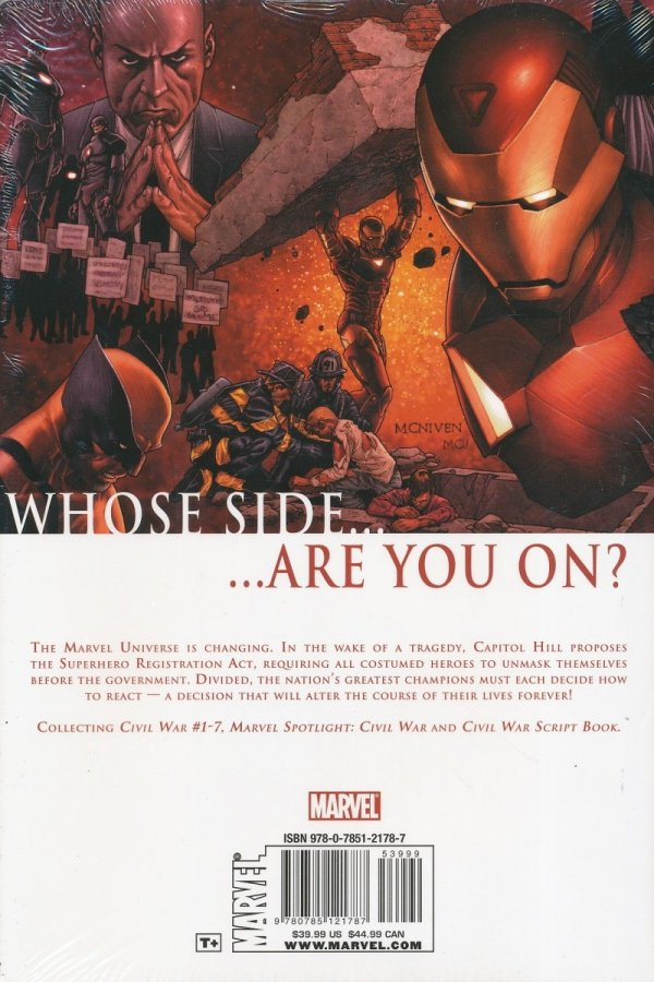 CIVIL WAR HC (OLD EDITION) (STANDARD COVER) **