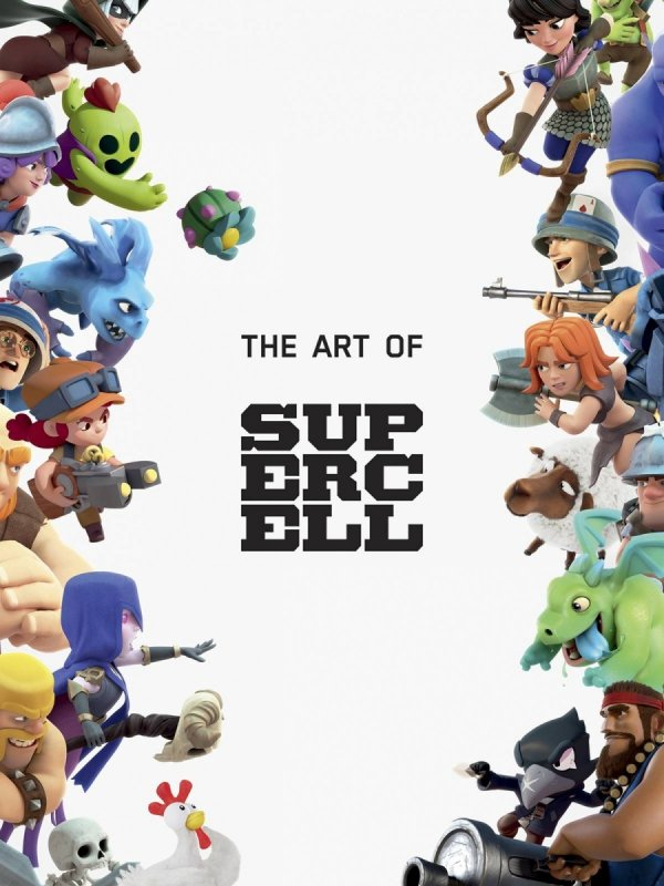 ART OF SUPERCELL 10 ANNIVERSARY ED HC *
