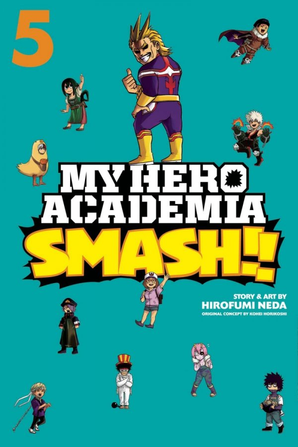 MY HERO ACADEMIA SMASH GN VOL 05 *