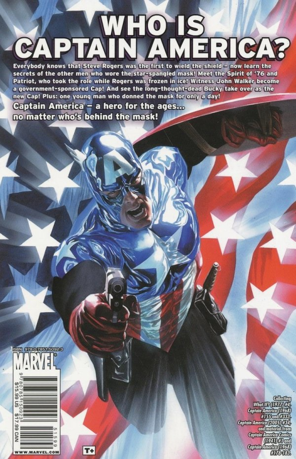 CAPTAIN AMERICA THE LEGACY OF CAPTAIN AMERICA SC