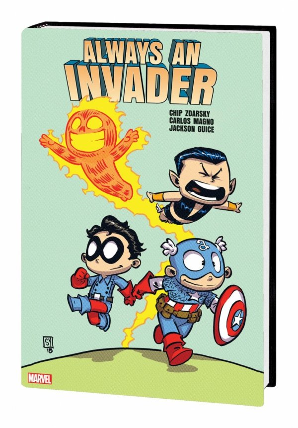 ALWAYS AN INVADER HC (VARIANT COVER) *