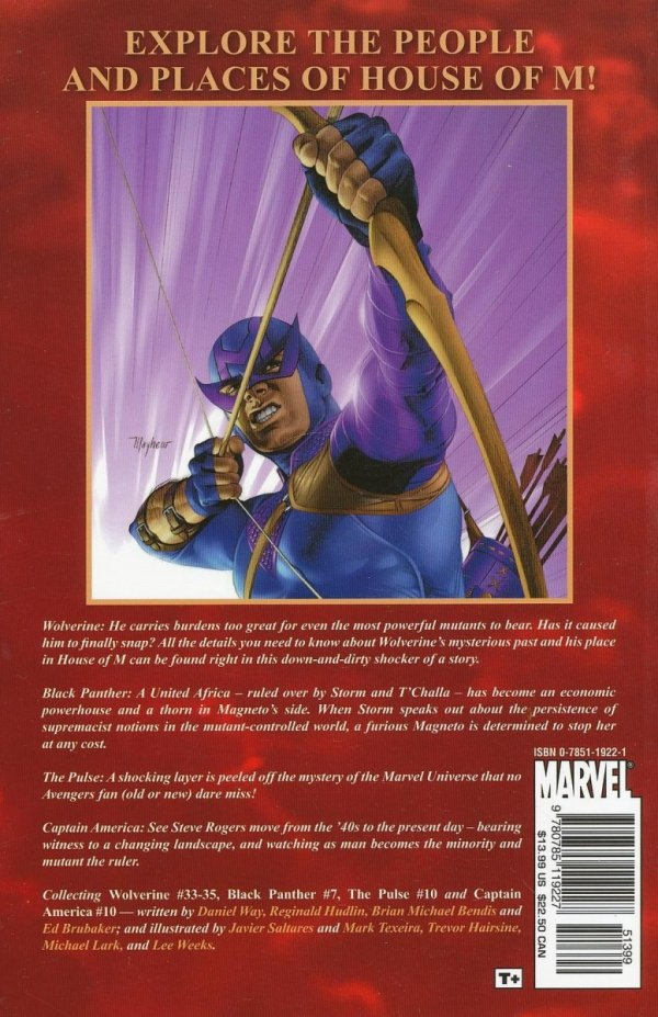 HOUSE OF M WORLD OF M FEATURING WOLVERINE SC *