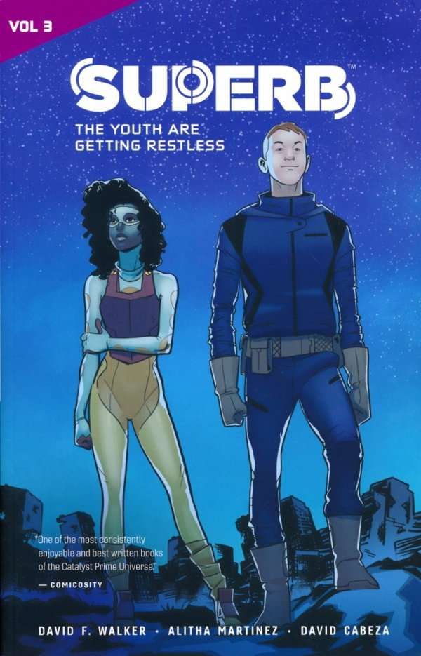 CATALYST PRIME SUPERB VOL 03 THE YOUTH ARE GETTING RESTLESS SC