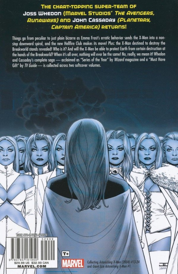 ASTONISHING X-MEN WHEDON CASSADAY ULT COLL TP BOOK 02