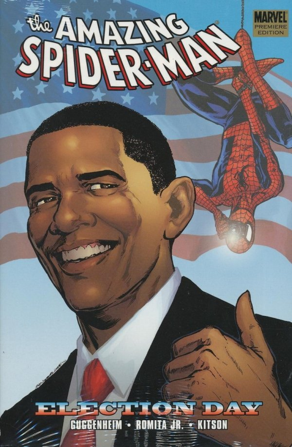 SPIDER-MAN ELECTION DAY HC (STANDARD COVER)