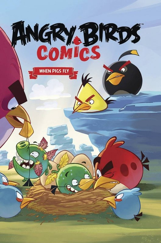ANGRY BIRDS COMICS VOL 02 WHEN PIGS FLY HC **