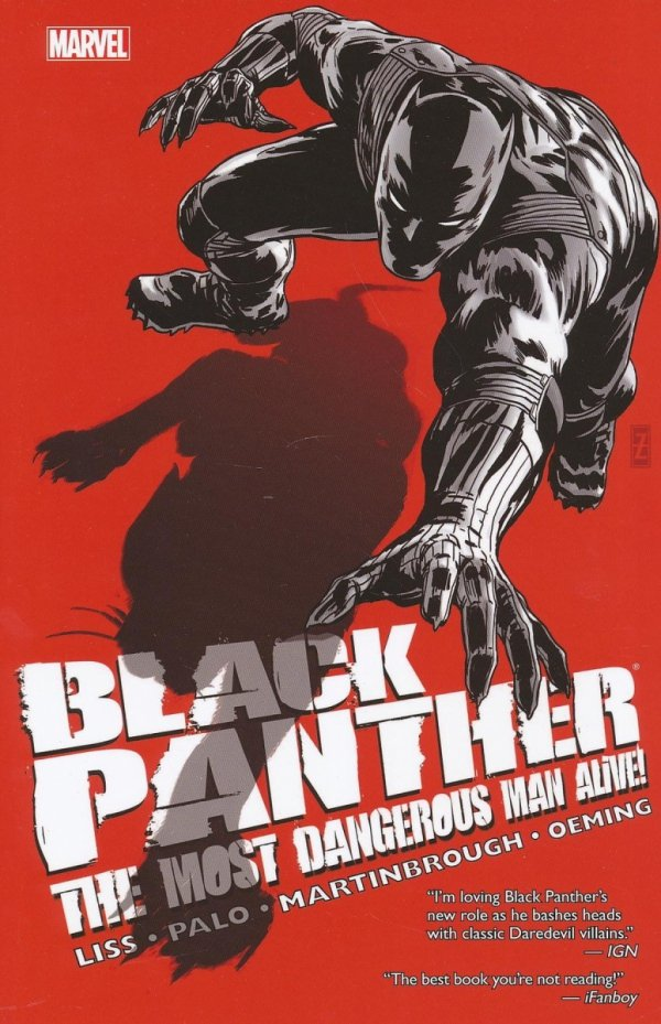 BLACK PANTHER THE MOST DANGEROUS MAN ALIVE THE KINGPIN OF WAKANDA SC *