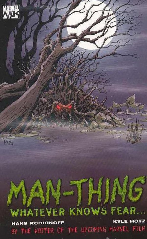 MAN-THING WHATEVER KNOWS FEAR SC *