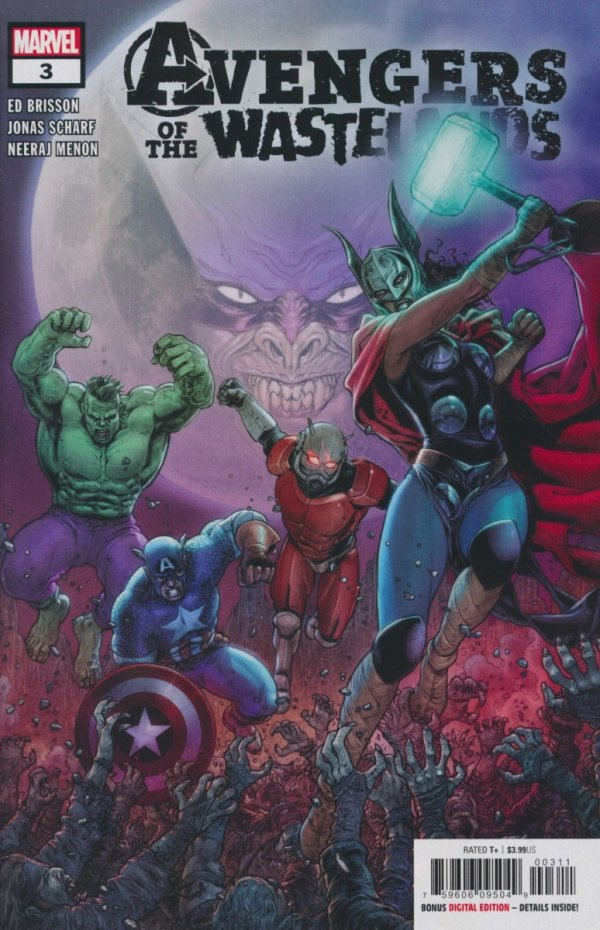 AVENGERS OF THE WASTELANDS #3