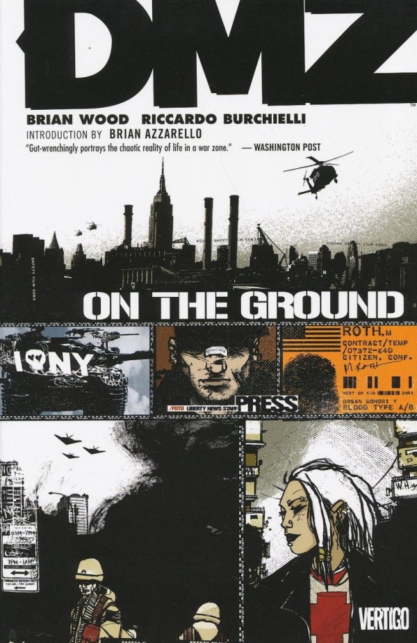 DMZ VOL 01 ON THE GROUND SC (2012 EDITION)