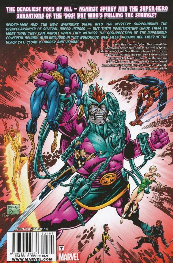SPIDER-MAN AND NEW WARRIORS HERO KILLERS TP