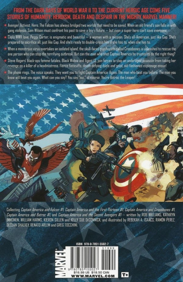 CAPTAIN AMERICA ALLIES AND ENEMIES SC