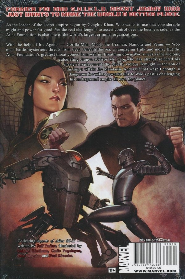 AGENTS OF ATLAS TURF WARS HC