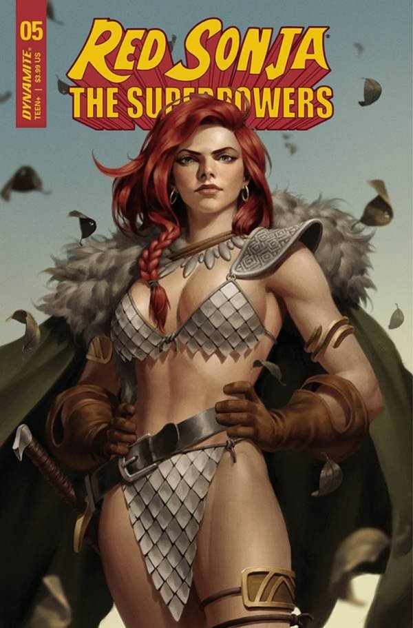 RED SONJA THE SUPERPOWERS #5 CVR B YOON