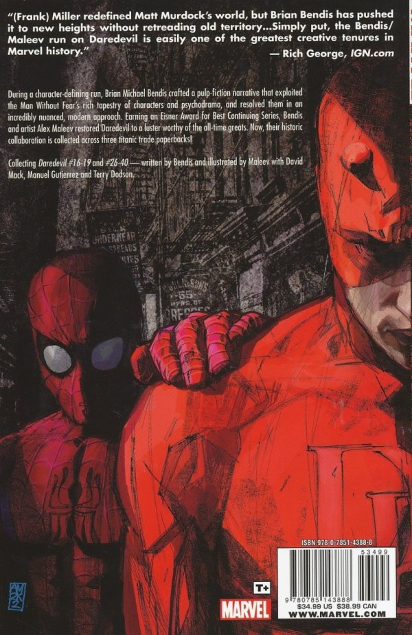 DAREDEVIL ULTIMATE COLLECTION VOL 01 SC (BRIAN MICHAEL BENDIS)