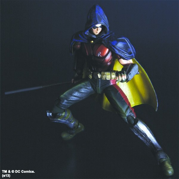 BATMAN ARKHAM CITY PLAY ARTS KAI ROBIN VER AF