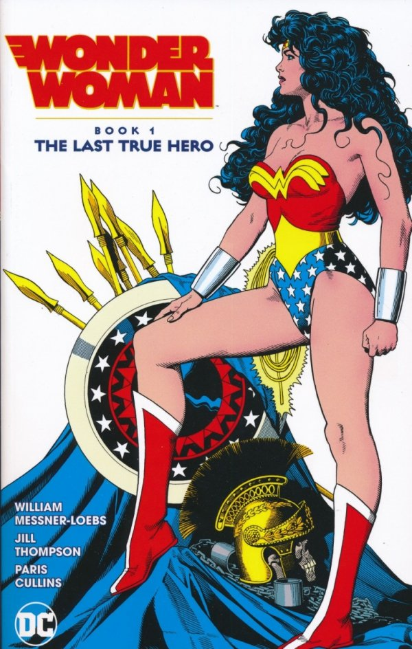 WONDER WOMAN THE LAST TRUE HERO VOL 01 SC