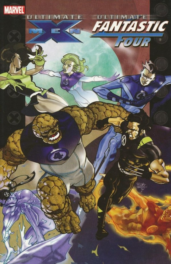 ULTIMATE X-MEN FANTASTIC FOUR SC