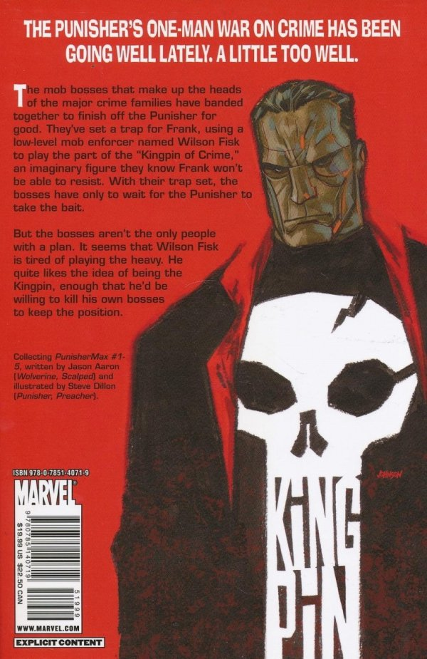 PUNISHER MAX KINGPIN SC