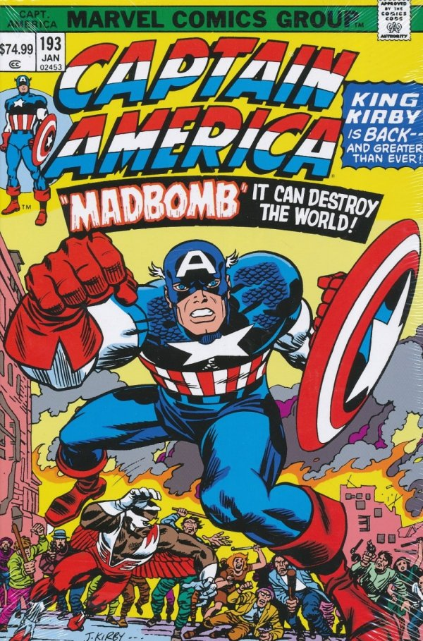 CAPTAIN AMERICA BY JACK KIRBY OMNIBUS HC *