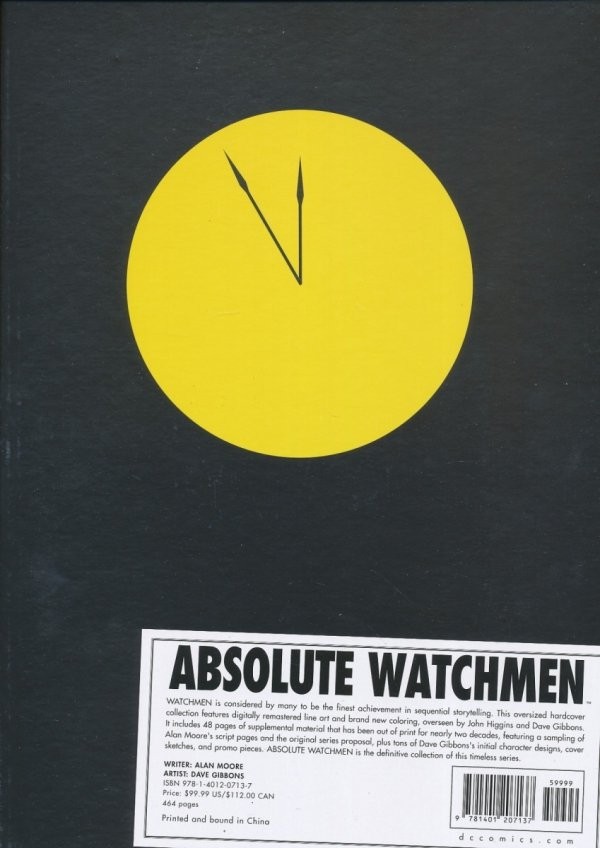 ABSOLUTE WATCHMEN HC (BOX) (NEW EDITION)