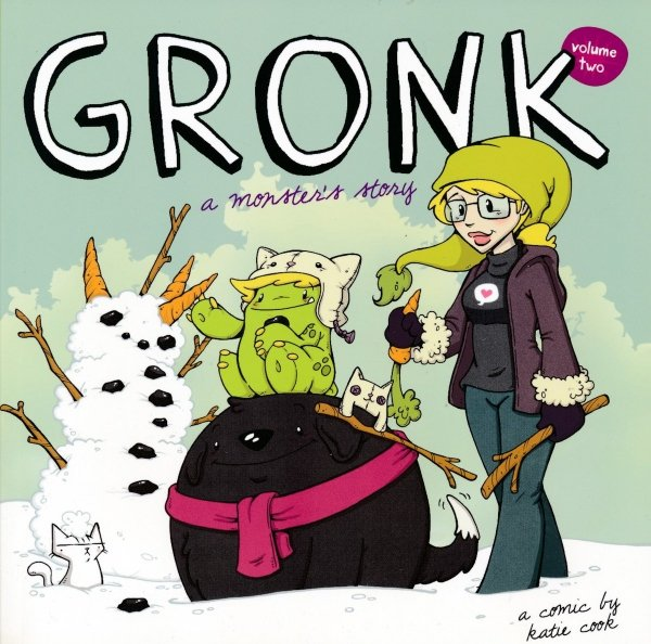 GRONK A MONSTERS STORY VOL 02 SC