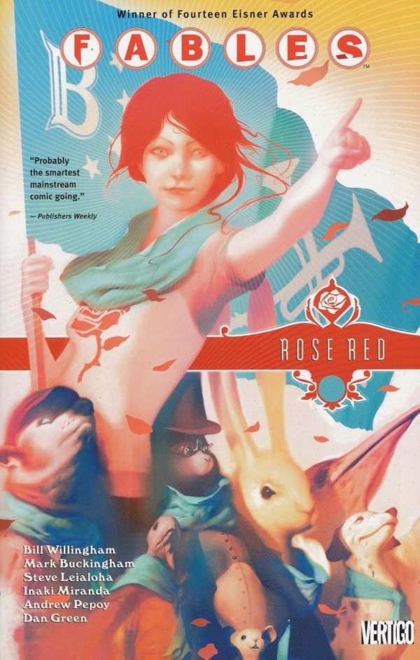 FABLES VOL 15 ROSE RED SC
