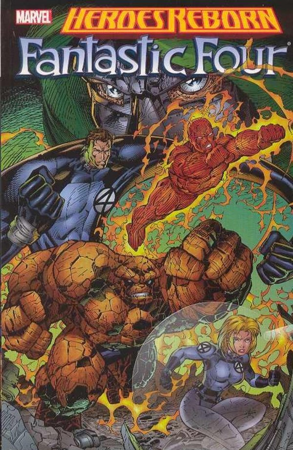 HEROES REBORN FANTASTIC FOUR SC (OLD EDITION) *