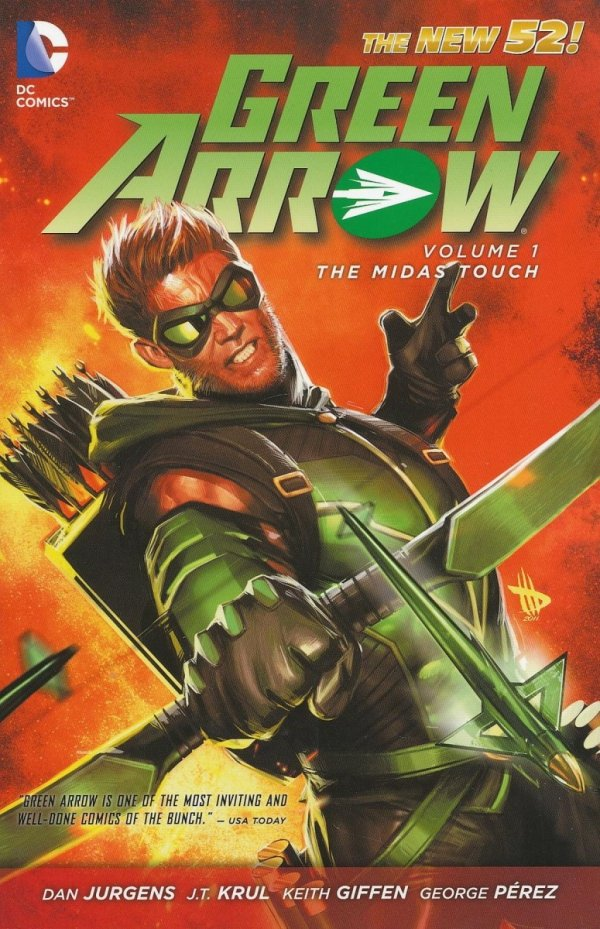 GREEN ARROW VOL 01 THE MIDAS TOUCH SC