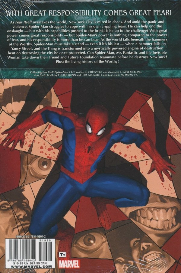 FEAR ITSELF SPIDER-MAN HC