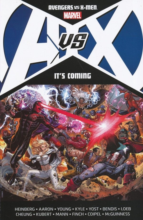 AVENGERS VS X-MEN ITS COMING SC