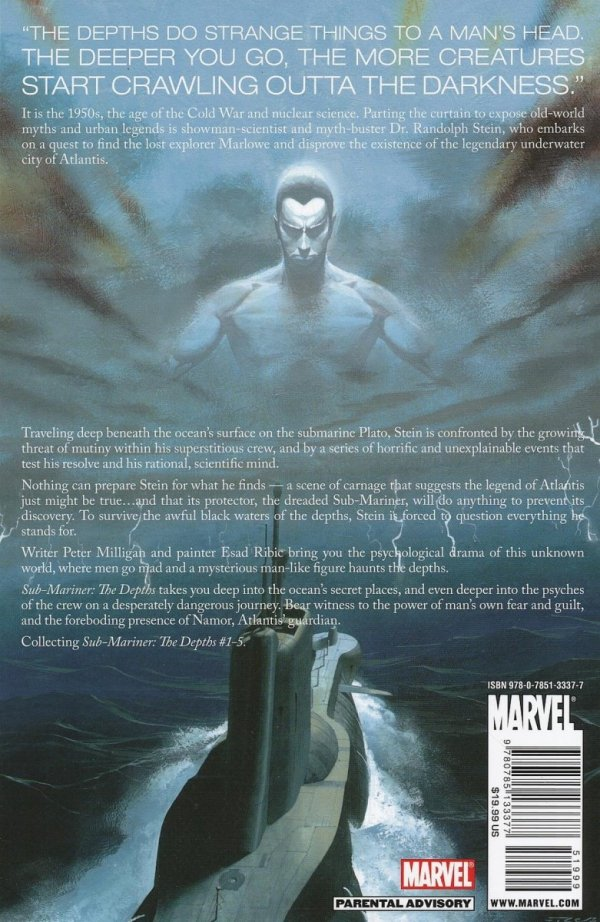 SUB-MARINER THE DEPTHS SC (OLD EDITION)