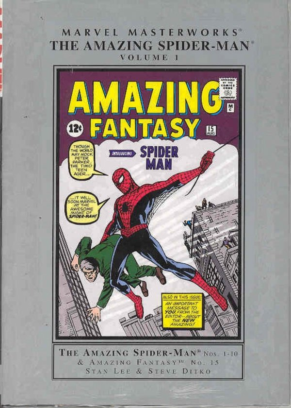MARVEL MASTERWORKS THE AMAZING SPIDER-MAN VOL 01 HC (OLD EDITION) (STANDARD COVER) *