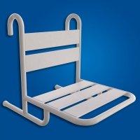 Krzesełko Prysznicowe Zawieszane białe fi25