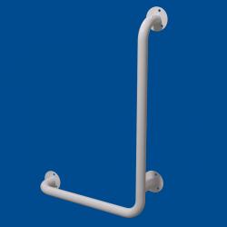 Uchwyt Kątowy dla Niepełnosprawnych prawy 100/40cm biały fi32