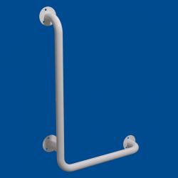 Uchwyt Kątowy dla Niepełnosprawnych lewy 100/60cm biały fi32