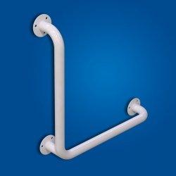Uchwyt Kątowy 60/60cm biały fi32 dla niepełnosprawnych
