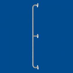 Uchwyt Prosty dla Niepełnosprawnych 150 cm biały fi25