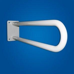 Uchwyt dla niepełnosprawnych Umywalkowy stały 50cm biały fi25
