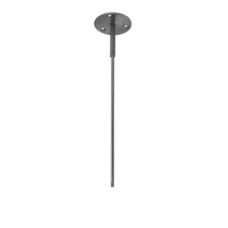 Podwieszenie drążka regulowane 15cm-100cm stal nierdzewna fi25