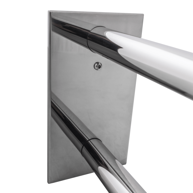 Uchwyt Umywalkowy / WC dla Niepełnosprawnych stały 60cm stal nierdzewna fi32
