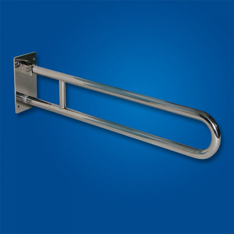 Uchwyt Uchylny WC / Umywalka dla Niepełnosprawnych 60cm stal nierdz. fi25
