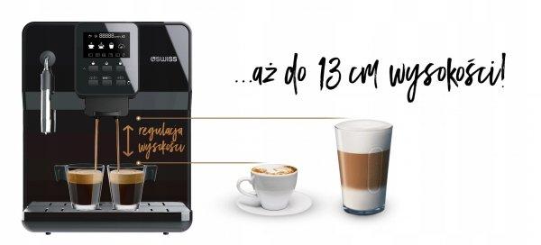 Ekspres do kawy 4Swiss Modena A6 automat + kawa