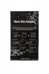Adapter Nano SIM 3W1 czarny