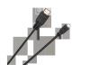 Kabel  wtyk HDMI typ A -  wtyk mikro HDMI typ D Cabletech standard